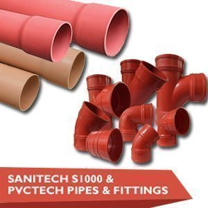 Sani-Tech S1000 & PVC-Tech Pipes & Fittings